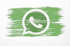Bandiera di Whatsapp Fotografia Stock Libera da Diritti