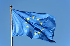 Bandiera europea Immagine Stock