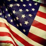 Bandiera filtrata degli Stati Uniti Fotografia Stock Libera da Diritti