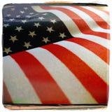 Bandiera filtrata degli Stati Uniti Immagini Stock Libere da Diritti