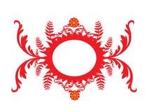 Bandiera floreale Fotografia Stock