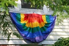 Bandiera gaia di orgoglio fotografie stock