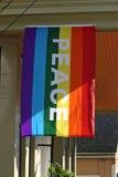 Bandiera gaia di pace di orgoglio fotografie stock libere da diritti
