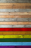 Bandiera gay Immagine Stock Libera da Diritti