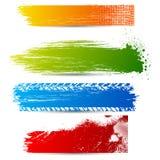 Bandiera Grungy Immagine Stock Libera da Diritti