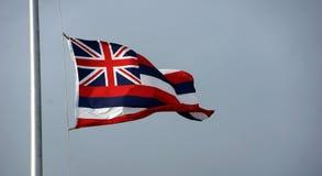 Bandiera hawaiana Immagine Stock