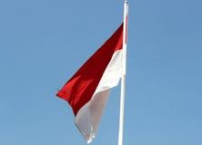 BANDIERA INDONESIANA Immagine Stock Libera da Diritti