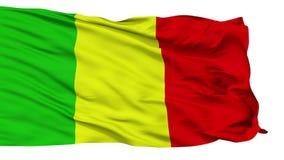 Bandiera isolata della città di Chateauroux, Francia video d archivio