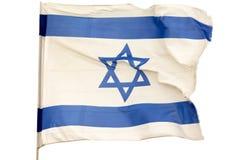 Bandiera israeliana Fotografia Stock