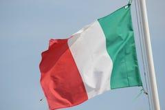 Bandiera italiana (Tricolore) Fotografia Stock