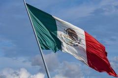 Bandiera messicana Immagini Stock