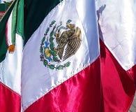 Bandiera messicana Immagini Stock Libere da Diritti