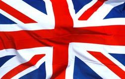 Bandiera nazionale britannica Fotografie Stock Libere da Diritti