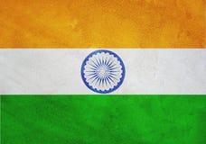 Bandiera nazionale dell'India Immagini Stock Libere da Diritti