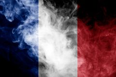 Bandiera nazionale della Francia Fotografia Stock Libera da Diritti