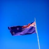 Bandiera nazionale della Nuova Zelanda Fotografie Stock