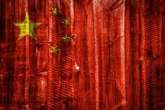 Bandiera nazionale su fondo di legno strutturale immagine stock libera da diritti