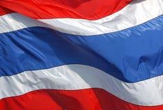Bandiera nazionale tailandese Fotografie Stock