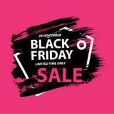 Bandiera nera di vendita di venerdì Royalty Illustrazione gratis