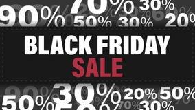 Bandiera nera di vendita di venerdì Modello di progettazione di Black Friday per l'insegna, aletta di filatoio Illustrazione di v illustrazione vettoriale