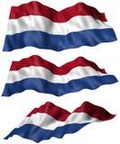 Bandiera olandese Fotografia Stock