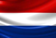 Bandiera olandese Fotografie Stock Libere da Diritti