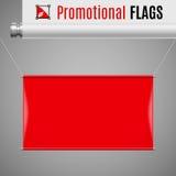 Bandiera promozionale Fotografie Stock