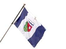 Bandiera provinciale dei Territori del Nord Ovest, Cana fotografia stock libera da diritti