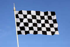 Bandiera a quadretti - vittoria - vincere Immagini Stock