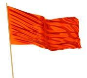 Bandiera rossa Immagini Stock