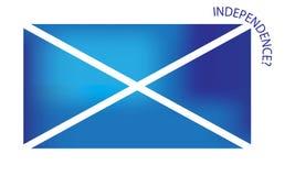 Bandiera scozzese di indipendenza Immagini Stock Libere da Diritti