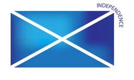 Bandiera scozzese di indipendenza Fotografie Stock