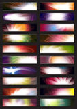 Bandiera senza giunte di Web Fotografia Stock