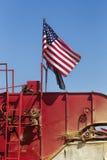 Bandiera sull'associazione Immagine Stock Libera da Diritti