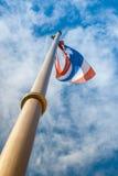 Bandiera tailandese Immagine Stock