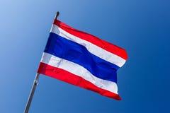 Bandiera tailandese Immagine Stock Libera da Diritti