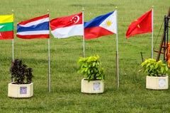 Bandiera tailandese nazionale Immagine Stock
