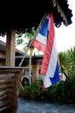 Bandiera tailandese nazionale davanti alla Camera tailandese Fotografia Stock Libera da Diritti