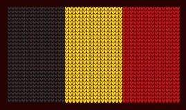 Bandiera tricottata Priorità bassa del `s di nuovo anno Fotografie Stock Libere da Diritti