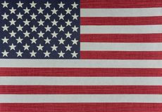 Bandiera U.S.A. - EEUU degli Stati Uniti fotografia stock libera da diritti