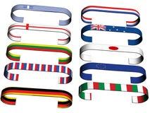 Bandiere Immagine Stock Libera da Diritti