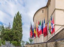 Bandiere Foto de archivo libre de regalías
