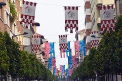 Bandiere Fotografia Stock Libera da Diritti