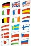 Bandiere Fotografía de archivo