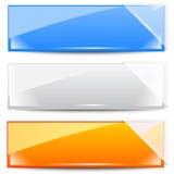 Bandiere - blocchi per grafici Immagini Stock