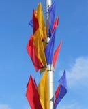 Bandiere colorate Immagini Stock Libere da Diritti