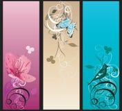 Bandiere decorative Fotografie Stock Libere da Diritti