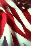 Bandiere degli Stati Uniti e della Gran Bretagna Fotografia Stock Libera da Diritti