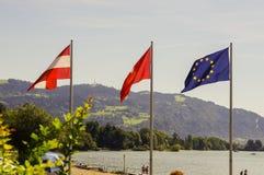 Bandiere dei paesi Immagini Stock