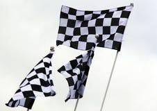 Bandiere del Gran Premio Immagini Stock Libere da Diritti
